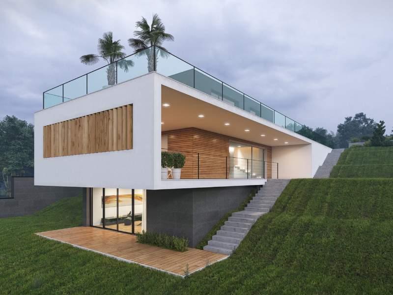 Le case in legno tutto quello che ancora non sapete mia for Moderni disegni di case a due piani